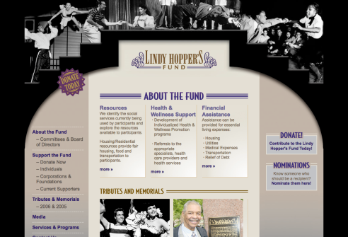 Thumbnail of Lindy Hoppers Fund